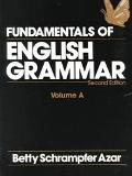 Fundamentals of English Grammar/Volume A