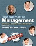 Fundamentals of Management: Essential Concepts and Applications, Student Value Edition (9th ...