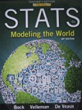 Stats: Modeling the World, AP edition, 4th edition (Teacher's Edition)