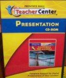 Pre-Algebra Presentation CD-Rom (California Mathematics)