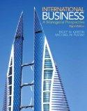 International Business: A Managerial Perspective Plus 2014 MyManagementLab with Pearson eTex...
