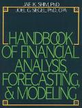 Handbook of Financial Analysis Forecasting and Budgeting