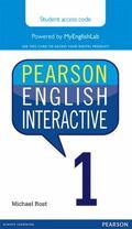 Pearson English Interactive 1, Online Version, American English (Access Card)