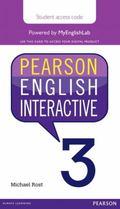 Pearson English Interactive 3, Online Version, American English (Access Card)