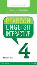 Pearson English Interactive 4, Online Version, American English (Access Card)