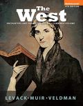The West: Encounters and Transformations, Combined Volume, Black & White Plus NEW MyHistoryL...