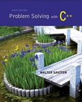 Problem Solving with C++ plus MyProgrammingLab with Pearson eText-- Access Card Package (9th...