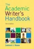 The Academic Writer's Handbook Plus MyWritingLab with eText -- Access Card Package (3rd Edit...