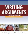 Writing Arguments: A Rhetoric with Readings with MyWritingLab with eText -- Access Card Pack...