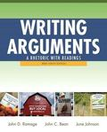 Writing Arguments: A Rhetoric with Readings, Brief Edition, with MyWritingLab with eText -- ...