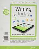 Writing Today, Books a la Carte Plus MyWritingLab with eText -- Access Card Package (2nd Edi...