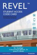 REVEL -- Access Card -- for Sociology Down-To-Earth