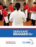 ServSafe Manager with Answer Sheet, Revised (6th Edition)
