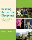 Reading Across the Disciplines: College Reading and Beyond Plus MyReadingLab with eText -- A...