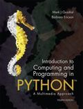 Introduction to Computing and Programming in Python