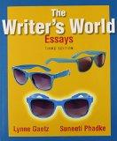 The Writer's World: Essays Plus MyWritingLab with Pearson eText -- Access Card Package (3rd ...