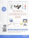 Technical Communication Today, Books a la Carte Plus MyWritingLab with eText -- Access Card ...