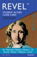 REVEL -- Access Card -- for American Stories, Volume 1