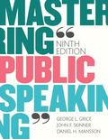 Mastering Public Speaking Plus NEW MyCommunicationLab for Public Speaking -- Access Card Pac...