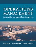 Operations Management: Sustainability and Supply Chain Management (12th Edition)