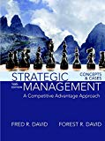 Strategic Management: A Competitive Advantage Approach, Concepts and Cases (16th Edition)