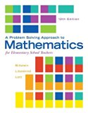 Problem Solving Approach to Mathematics for Elementary School Teachers; Activities Manual; M...