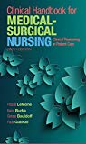 Clinical Handbook for Medical-Surgical Nursing: Clinical Reasoning in Patient Care (6th Edit...