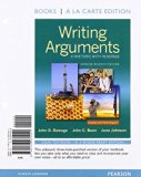 Writing Arguments: A Rhetoric with Readings, Concise Edition, Books a la Carte Edition Plus ...