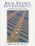 Real Estate Investment Analysis and Applications