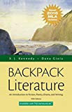 Backpack Literature: An Introduction to Fiction, Poetry, Drama, and Writing, MLA Update Edit...