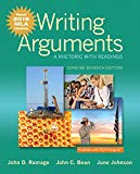 Writing Arguments: A Rhetoric with Readings, Concise Edition, MLA Update Edition (7th Edition)