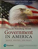 Government in America (17th Edition)