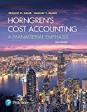 Horngren's Cost Accounting Plus MyAccountingLab with Pearson eText -- Access Card Package (1...