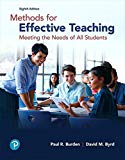 Methods for Effective Teaching: Meeting the Needs of All Students (8th Edition)
