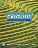 Calculus, Single Variable (3rd Edition)