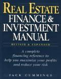 Real Estate Finance and Investment Manual - Jack Cummings - Hardcover - REVISED