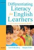 Differentiating Literacy for English Learners: A DVD and Instructional Booklet