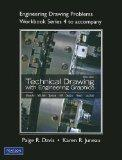 Engineering Drawing Problems Workbook (Series 4) for Technical Drawing with Engineering Grap...