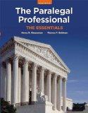 The Paralegal Professional: Essentials (3rd Edition)