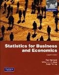 Statistics for Business & Economics (International Edition)