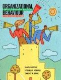 Organizational Behaviour: Concepts, Controversies, Applications, Fifth Canadian Edition with...