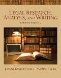 Legal Research, Analysis, and Writing (4th Edition)