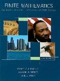 Finite Mathematics for Business, Economics, Life Sciences and Social Sciences -Package