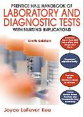 Prentice Hall Handbook of Laboratory and Diagnostic Tests