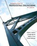 Introduction to Professional Engineering in Canada, Third Canadian Edition (3rd Edition)