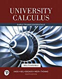 University Calculus: Early Transcendentals, Multivariable (4th Edition)