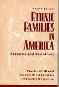 Ethnic Families in America Patterns and Variations