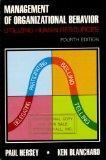 Management of organizational behavior: Utilizing human resources