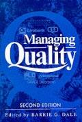 Managing Quality - Barrie G. Dale - Paperback - 2nd ed
