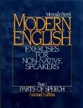 Modern English Exercises for Non-Native Speakers, Part 1  Parts of Speech